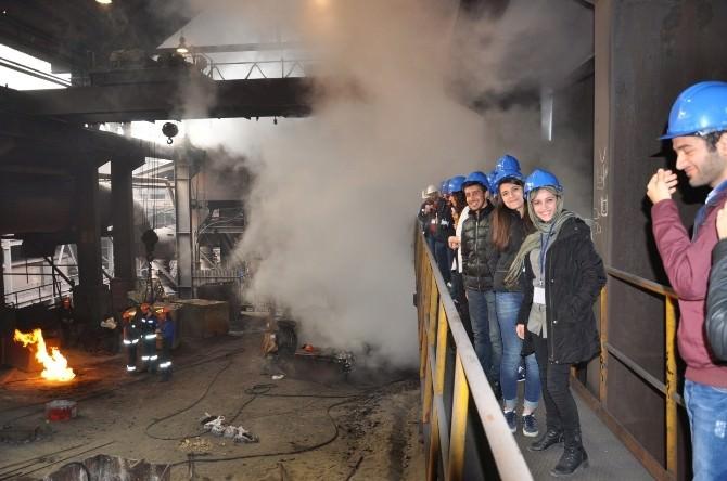Metalik Fikirler Kulübü'nden Uluslararası Sempozyuma Katılım Ve Teknik Gezi