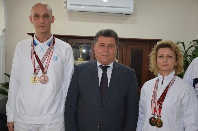 Aydınlı İki Sporcudan Okçulukta Dört Madalya