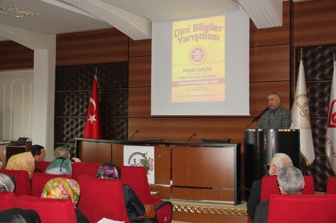 Sakarya'da Dini Bilgiler Yarışması Gerçekleştirilecek