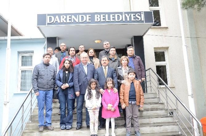 Büyükelçiler Darende'ye Hayran Kaldı