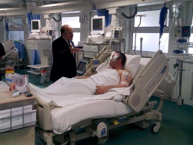 Otobüs Şoförü Ufuk Kıran Hastane Yoğun Bakım Ünitesi'nde İlk Kez Görüntülendi