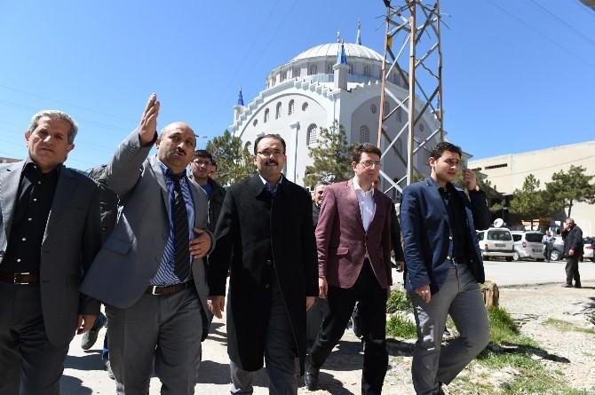 Başkan Cahan, Çanlı Esnafını Ziyaret Etti