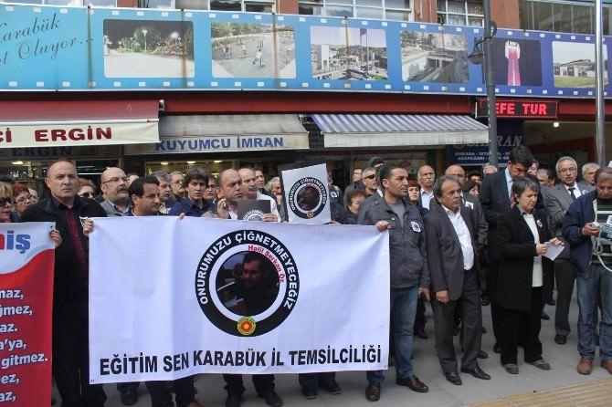 Ölen Öğretmen İçin Sendikalardan Protesto