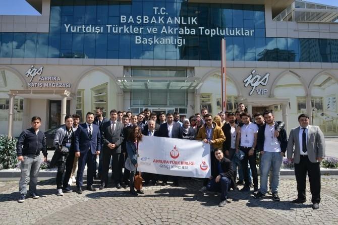 Yurt Dışında Yaşayan Türk Öğrenciler Türkiye'yi Geziyor