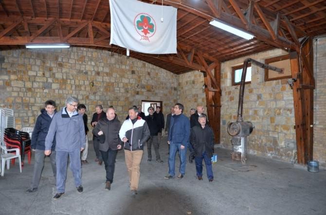 Zeka Yönetim Kurulu Üyeleri Muratdağı Termal Kayak Merkezi'nde Bir Araya Geldi