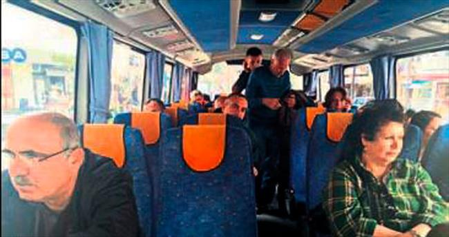 Muğla'da sivil polisler yolcu oldu