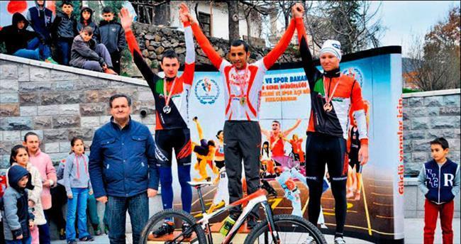 K.Hamam'da dağ bisikleti heyecanı