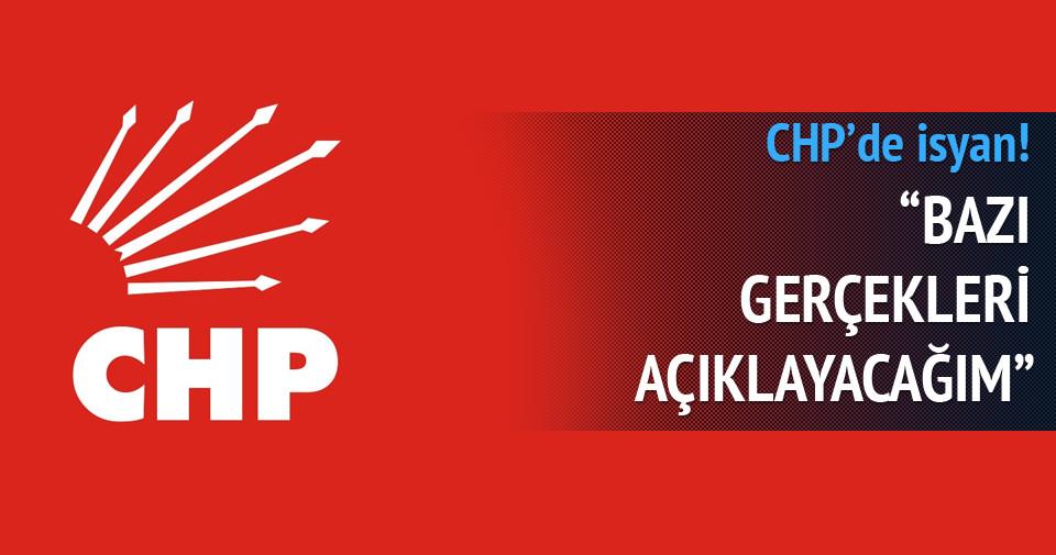 CHP'li Faik Tunay isyan bayrağı çekti
