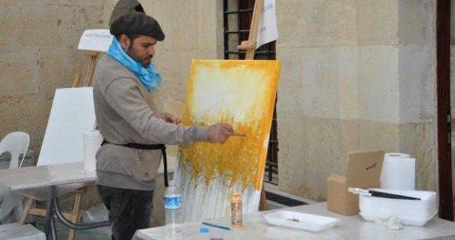 Ressamlar Tarsus'ta buluştu