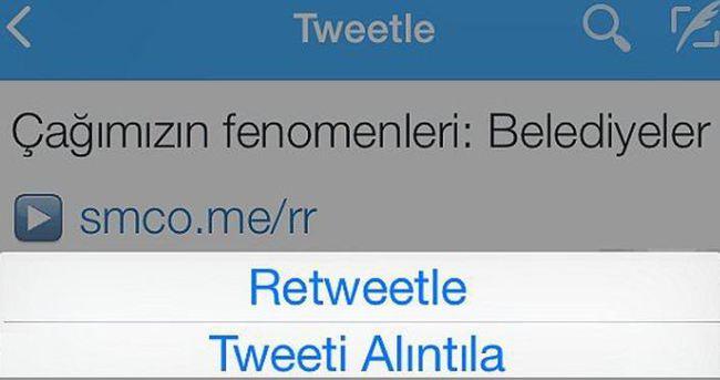Twitter'dan yeni özellik: Tweet'i Alıntıla