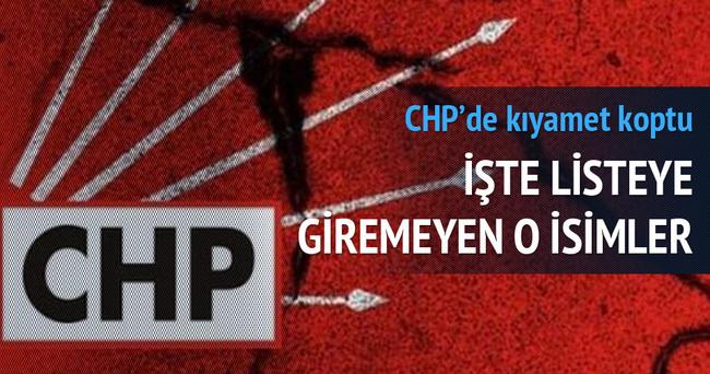 CHP'de bu vekiller tekrar aday yapılmadı