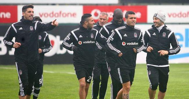 Beşiktaş'ta Kasımpaşa mesaisi