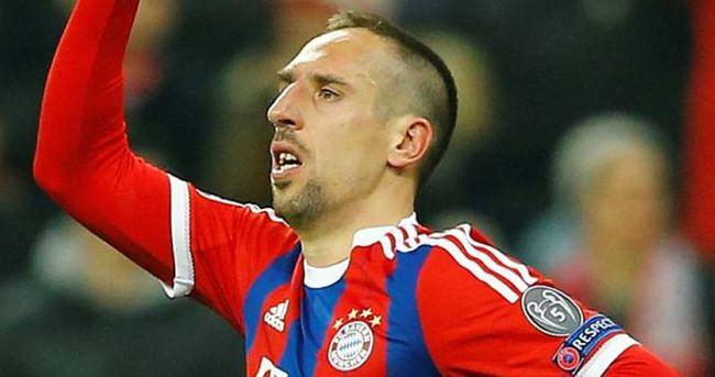 Ribery'den Van Gaal'e sert sözler