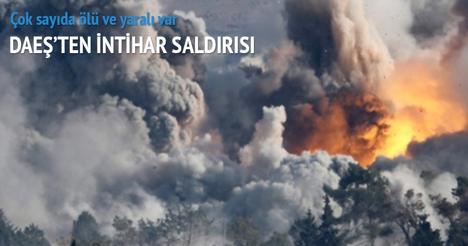 DAEŞ sınırda bomba patlattı