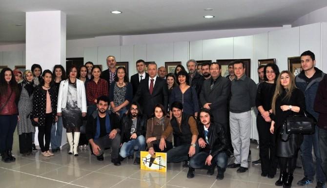 Muğla Sıtkı Koçman Üniversitesi Öğretim Elemanlarının Karma Resim Sergisi