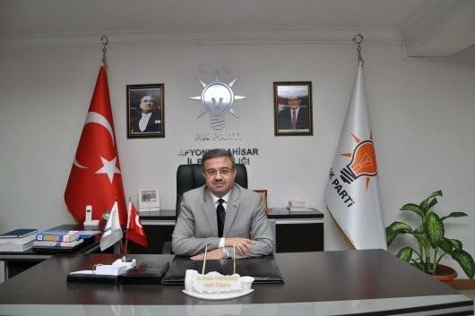 "AK Parti Afyonkarahisar İl Başkanı: ""Milletimize Hayırlı Olsun"""