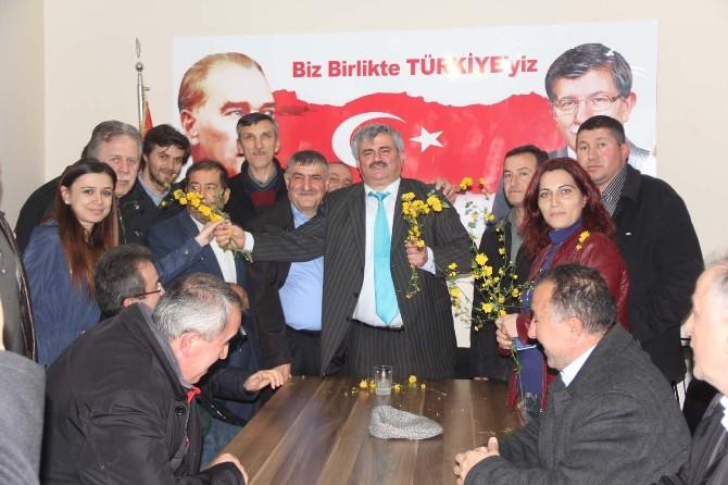 Alaplı AK Parti'de Çaturoğlu Rüzgarı