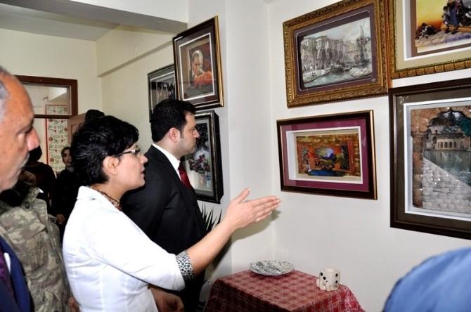 Kaymakam Fırat Kadın Kültür Merkezini Ziyaret Etti.