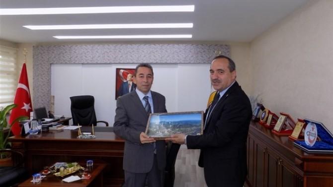 Emniyet Müdürü Aydoğdu'dan, Başkan Uzun'a Ziyaret