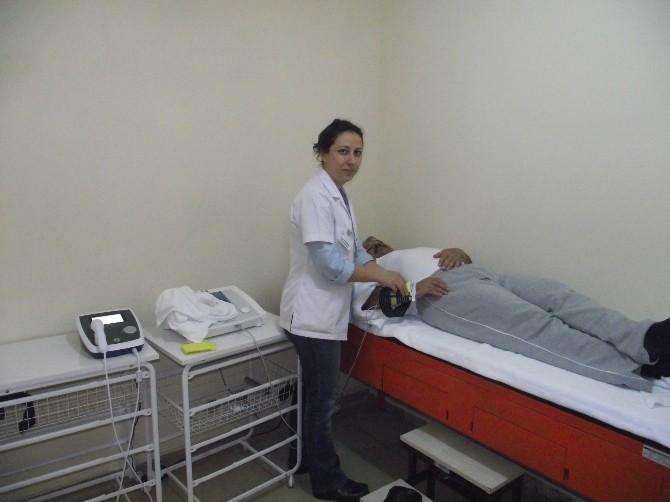 Bucak Devlet Hastanesi'nde Fizik Tedavi Ünitesi'ne Ek Cihaz Takviyesi Yapıldı