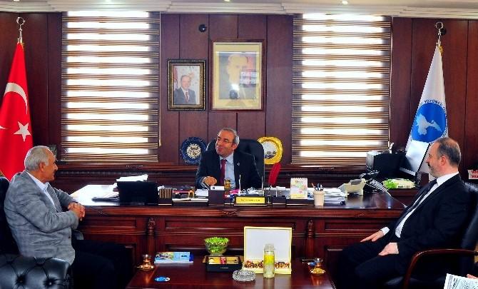 Rektör Battal'a 'Hayırlı Olsun' Ziyaretleri