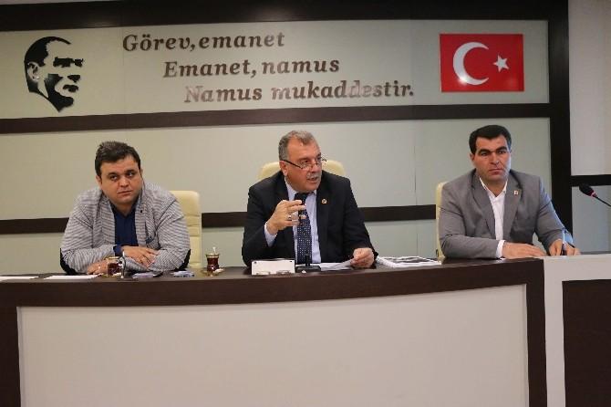 Haliliye Belediye Meclisi Toplandı