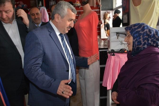 Başkan Baran Hacı Osman Mahallesi'ni Gezdi