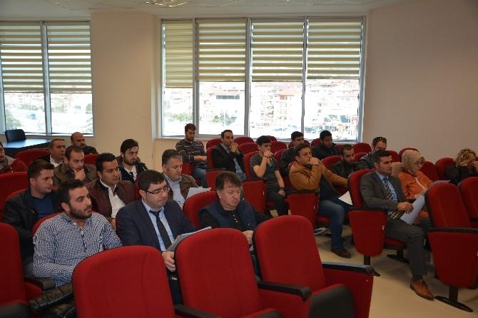 Körfez Belediyesi Yapı Denetim Firmalarıyla Toplantı Yaptı
