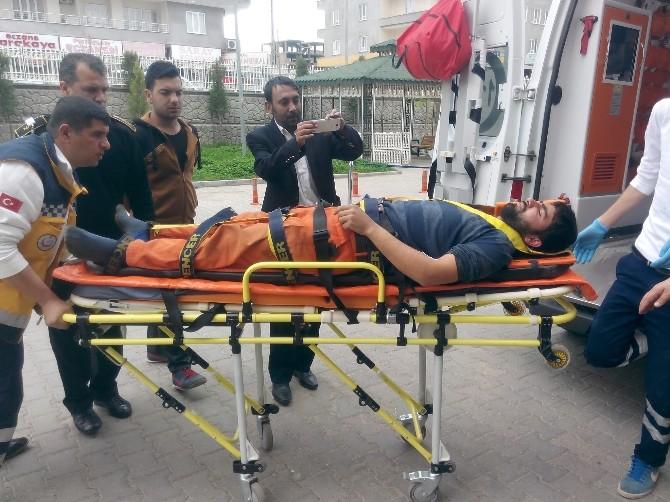 Osmaniyeli İşçi İnşaatta Düşerek Yaralandı