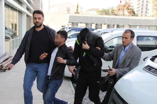 İnşaattan Hırsızlık İddiasına 3 Gözaltı