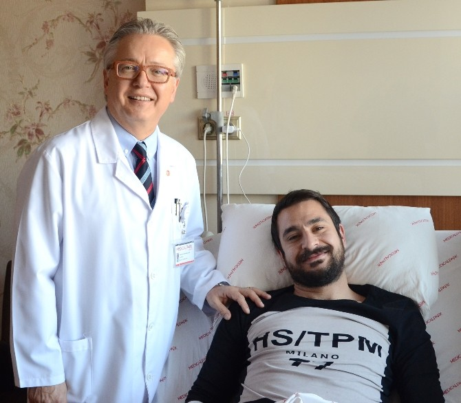 Samsunsporlu Futbolcu Sefa Akyol Ameliyat Oldu