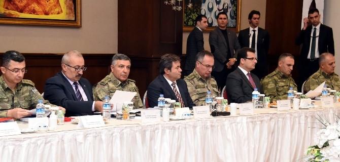 Vali Küçük, Bölgesel Sınır Güvenliği Toplantısına Katıldı
