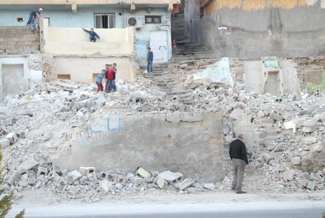 Şanlıurfa'da Yarım Bırakılan Yıkım Mahallelinin Tepkisine Neden Oldu