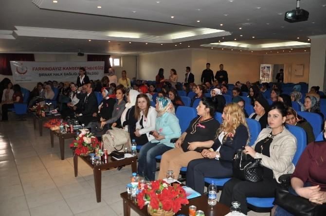 Şırnak'ta 'Kanserden Korunma Yolları' Konferansı