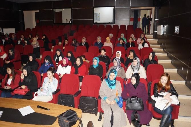 Cizre'de Kadınlara Kanser Ve Kanserle Mücadelenin Önemi Anlatıldı