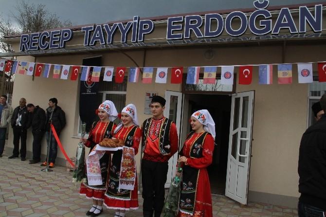 Moldova'da Recep Tayyip Erdoğan Huzurevi Açıldı