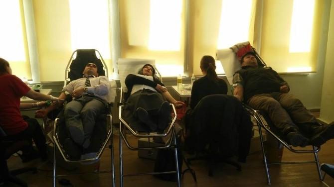Küre'de Kan Bağışı Kampanyasına Yoğun İlgi