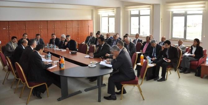 Yerköy'de Müdürler Kurulu Toplantısı Yapıldı