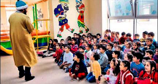Nezaket Okulları'nda 'kuklalı' eğitim