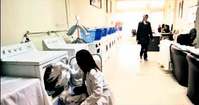 Çamaşır ve ütü Büyükşehir'den