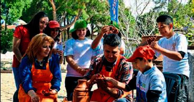 EXPO'dan özel çocuklara çalıştay