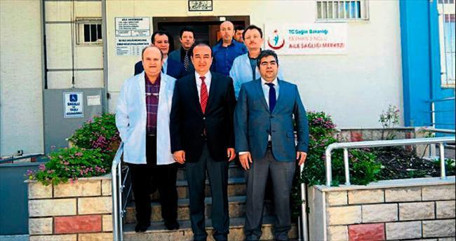 Başkan Öztürk'ten sağlıkçılara ziyaret