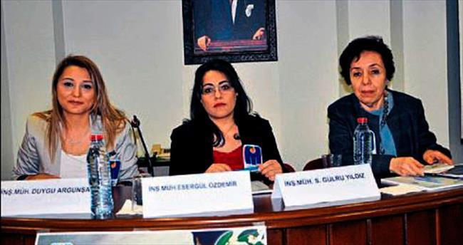 İMO'da kadın mühendisler sorunlarını konuştu