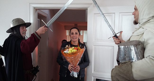 Türk ressama şövalyelik nişanı