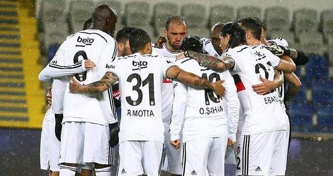 Beşiktaş'a psikolojik destek