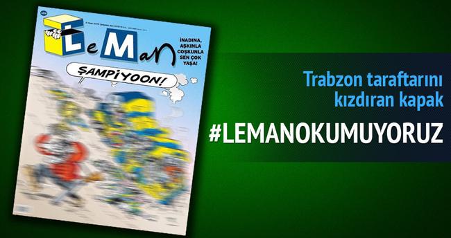 Leman dergisi Trabzonspor'u suçladı