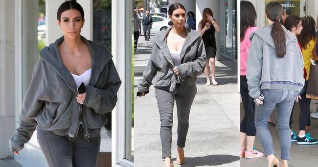 Kim Kardashian'�n bol e�ofman �st�n�n fiyat� �ok etti