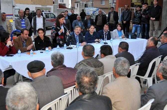 Akdeniz Belediyesi'nin Mahalle Toplantıları Devam Ediyor
