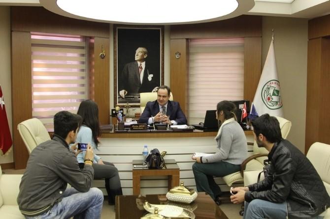 Giresun Belediye Başkanı Aksu, İktisat Fakültesi Öğrencilerine Belediyeciliği Anlattı