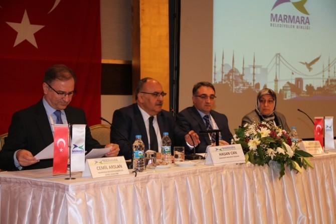 Başkan Yağcı, Marmara Belediyeler Birliği Encümen Üyeliğine Tekrar Seçildi